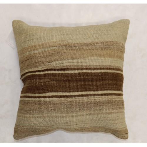 Square Rug Pillow No 329 Vintage Rug Pillow 12x12 Kilim Pillow Cover Turkish Rug Pillow Oriental Design Rug Pillow Antique Rug Pillow
